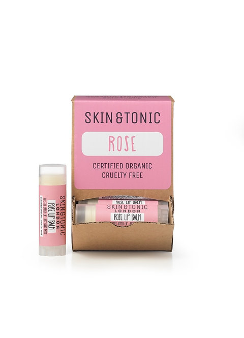 Skin and Tonic Lip Balm Rose