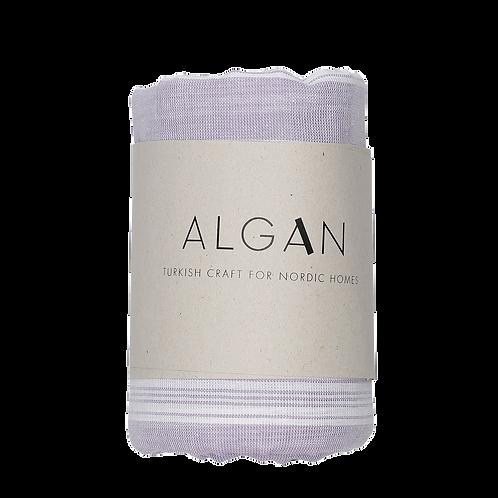 Algan Sade Lavendel Tyndt Hamamhåndklæde