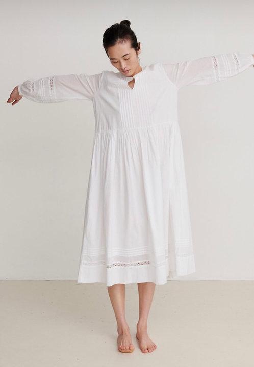Skall Studio Optic White Olive Dress