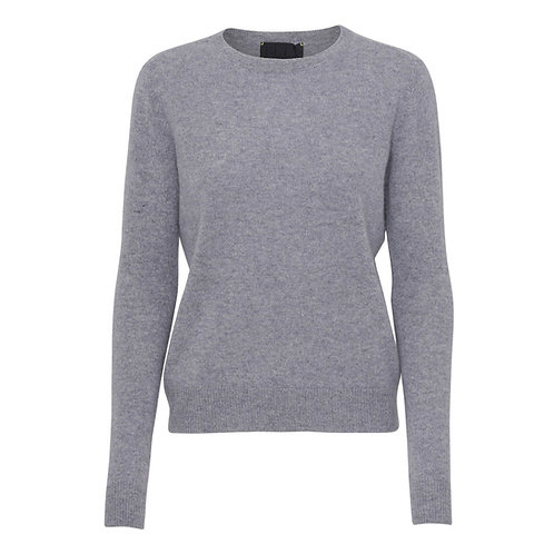 Beta Studio Cashmere Grey Knit