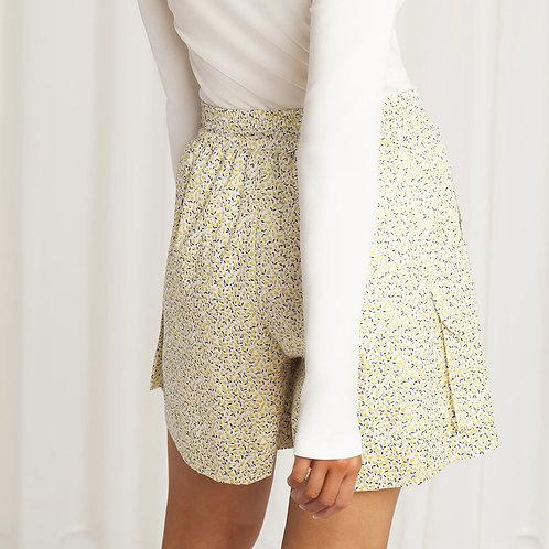 Birgitte Herskind Yellow Liberty Shorts