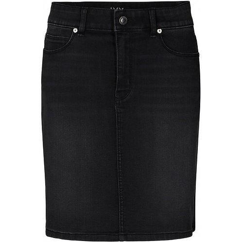 IVY Copenhagen Rosie Denim Skirt Cool Black