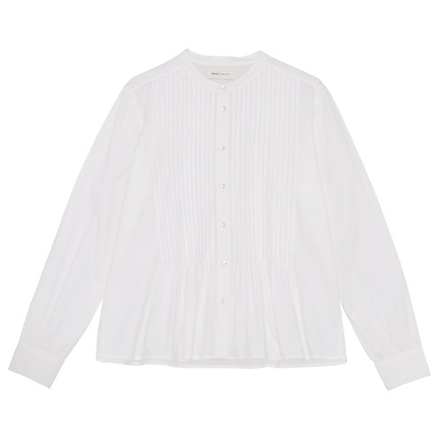 Skall Studio Heather Shirt Optic White
