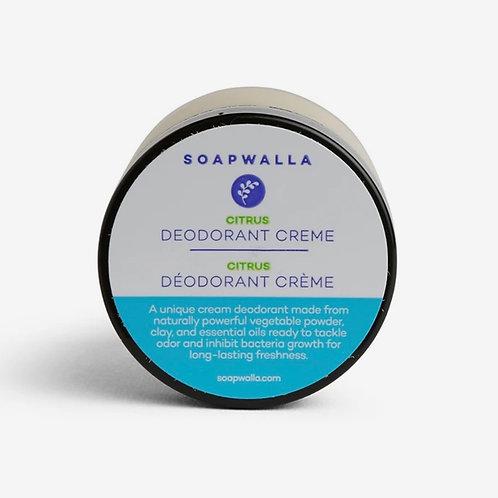 Soapwalla Citrus Deodorant Creme