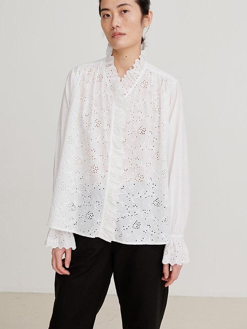 Skall Studio Bay Shirt Optic White