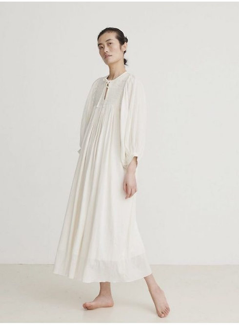 Skall Studio Nadja Dress Off White