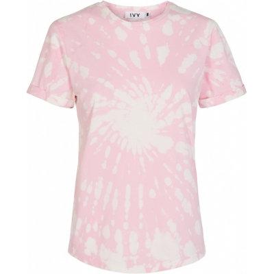 IVY Copenhagen State Tie Dye T-shirt Pink
