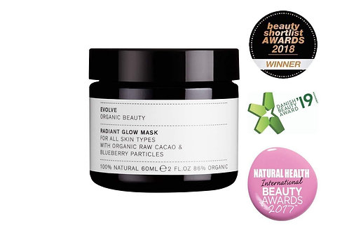 Evolve Beauty Radiant Glow Mask Blueberries