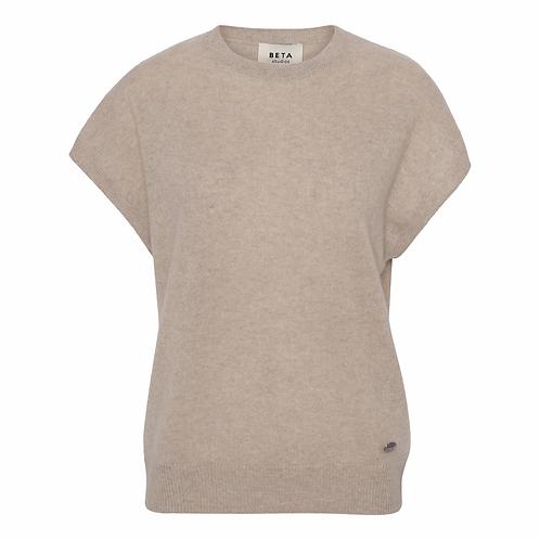 Beta Studio Badia tee Shirt Sand Melange