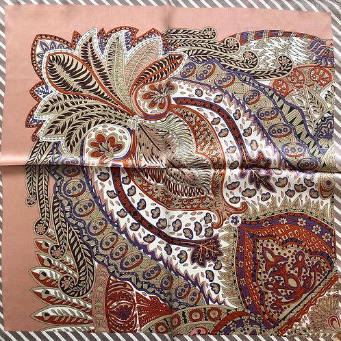 Plissé Copenhagen Silk Scarf
