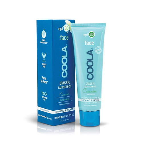 COOLA Classic Face Sunscreen Cucumber Spf30