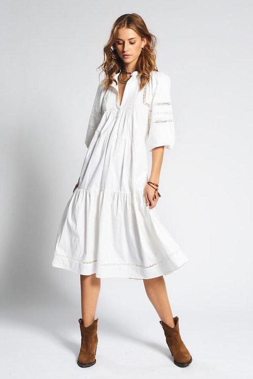 Moliin Nolani Dress White