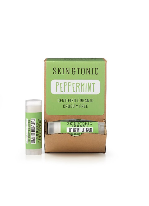 Skin and Tonic Lip Balm Peppermint