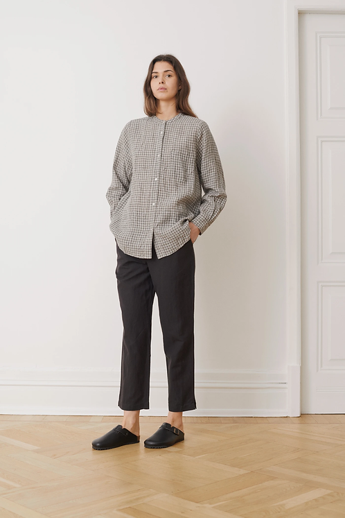 Skall Studio Maggie Shirt Grey Check