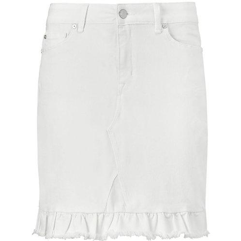 IVY Copenhagen Alexa Frill Skirt White