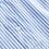 Thumbnail: Rue De Tokyo Demi Light Blue White Stripe Dress