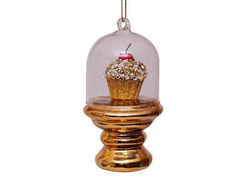 Vondels Gold Cupcake Dome