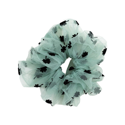 Pico Clover Scrunchie Dusty Green