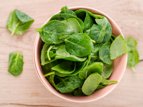 It's Spinach Month at Thyme!