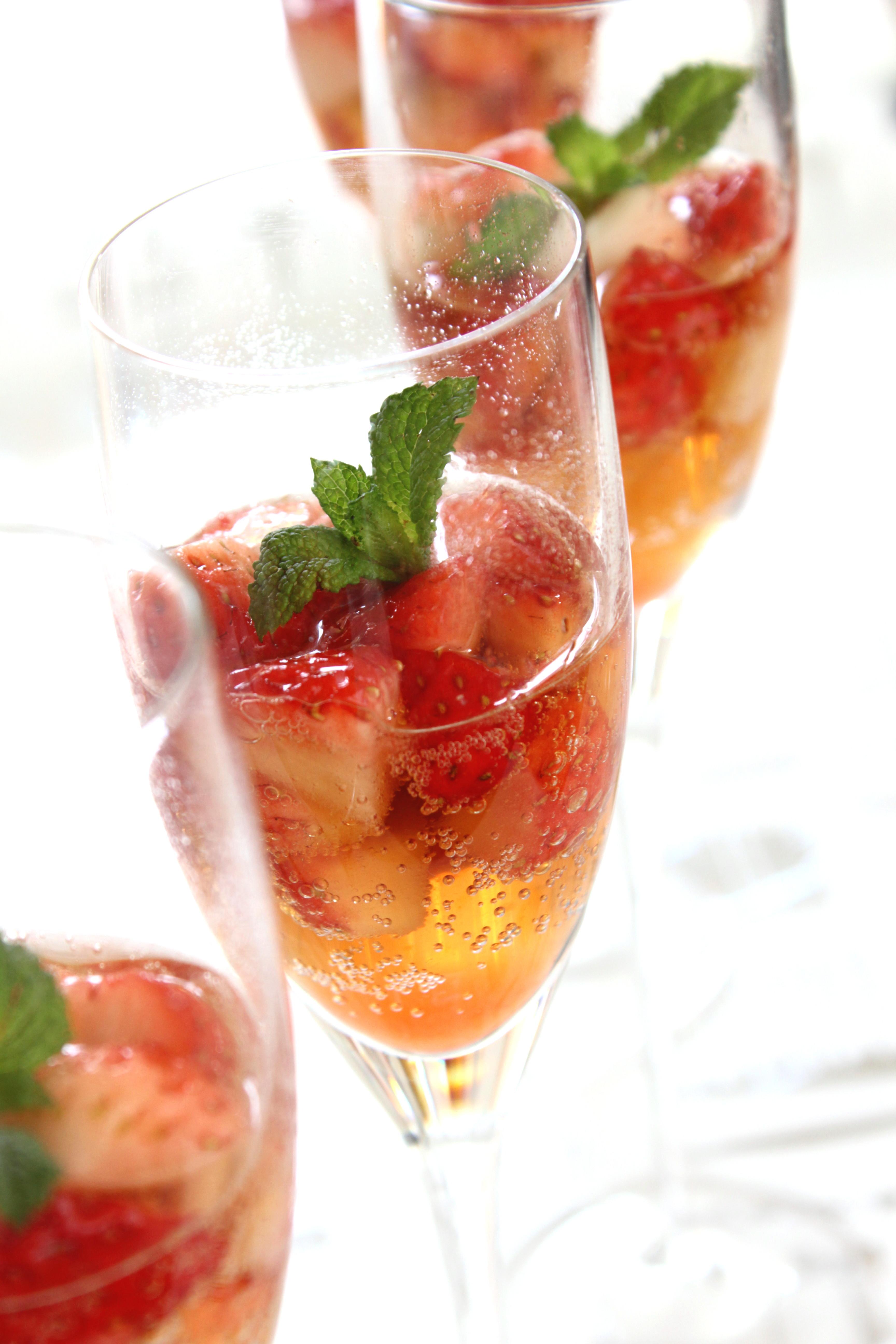 Fraise champagne