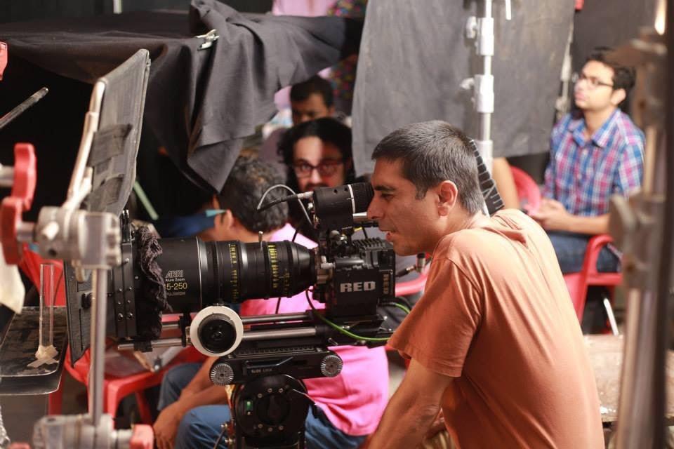 Cinematographer = Sachin Singh - Mumbai - Red Epic MX