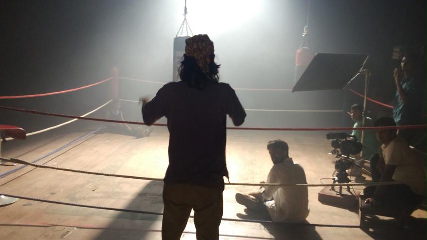 Studio Lighting - Boxing Set - cinematography