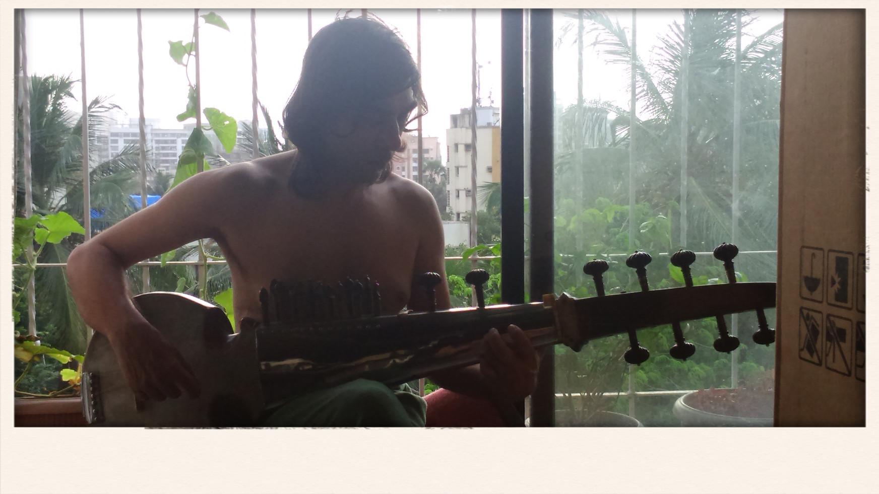 Sarod_Musical Practice_Sachin Sarod