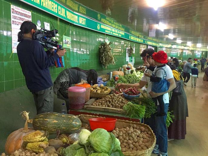 Organic Vegetable Market | Gantok SIKKIM | Documentary Film ZDF Plan B