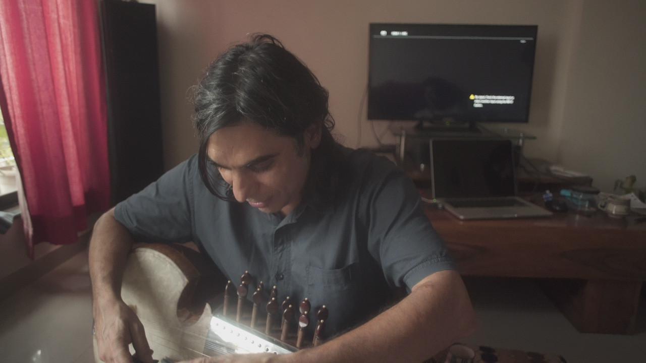 Tuning a Sarod - Sachin_Creativity_ India
