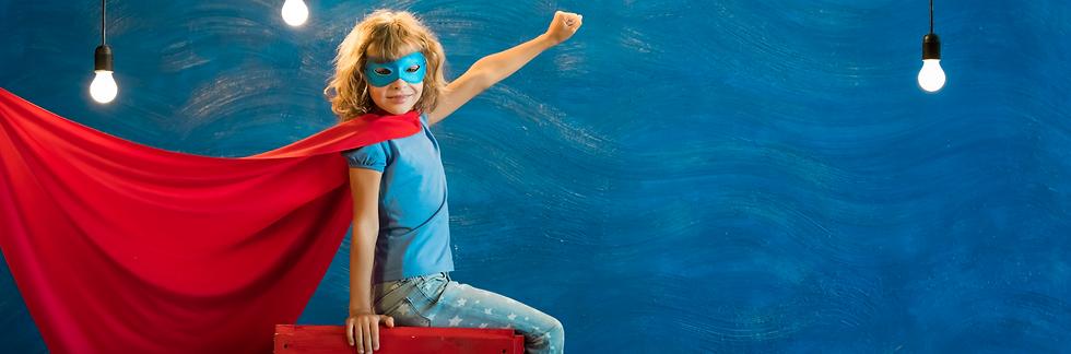 Yaruta | Superhero child at home