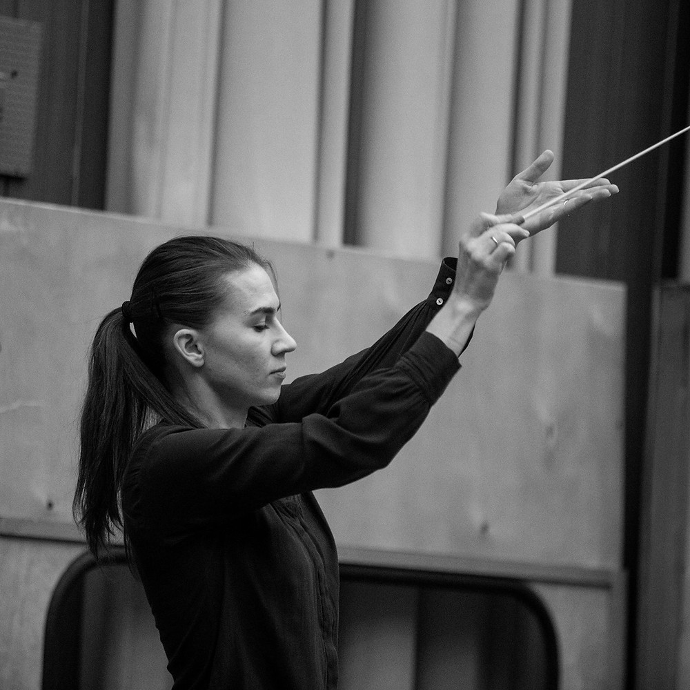 Marta Gardolińska/Facebook conductor female