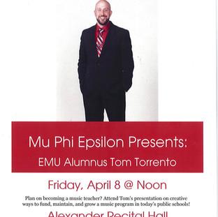 EMU - Presentation to School of Music