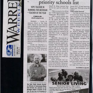 Region 9 Teacher of the Year - Warren Weekly - Page 1