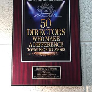 SB&O Magazine - 50 Directors Who Make A Difference Award