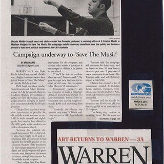 Save the Music Campaign