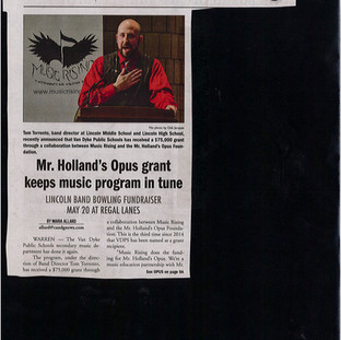 Mr. Holland's Opus Award - Second Time