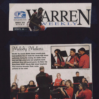 Warren Weekly Concert Feature