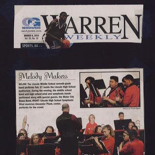 Warren Weekly Concert Feature
