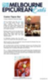 Melbourne Epicurean Eats Review 22nd December 2012 Carino Tapas Bar Ascot Vale