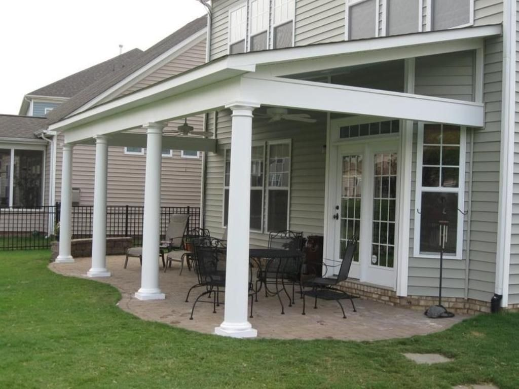 PATIO EXTENSION WITH SHINGLES