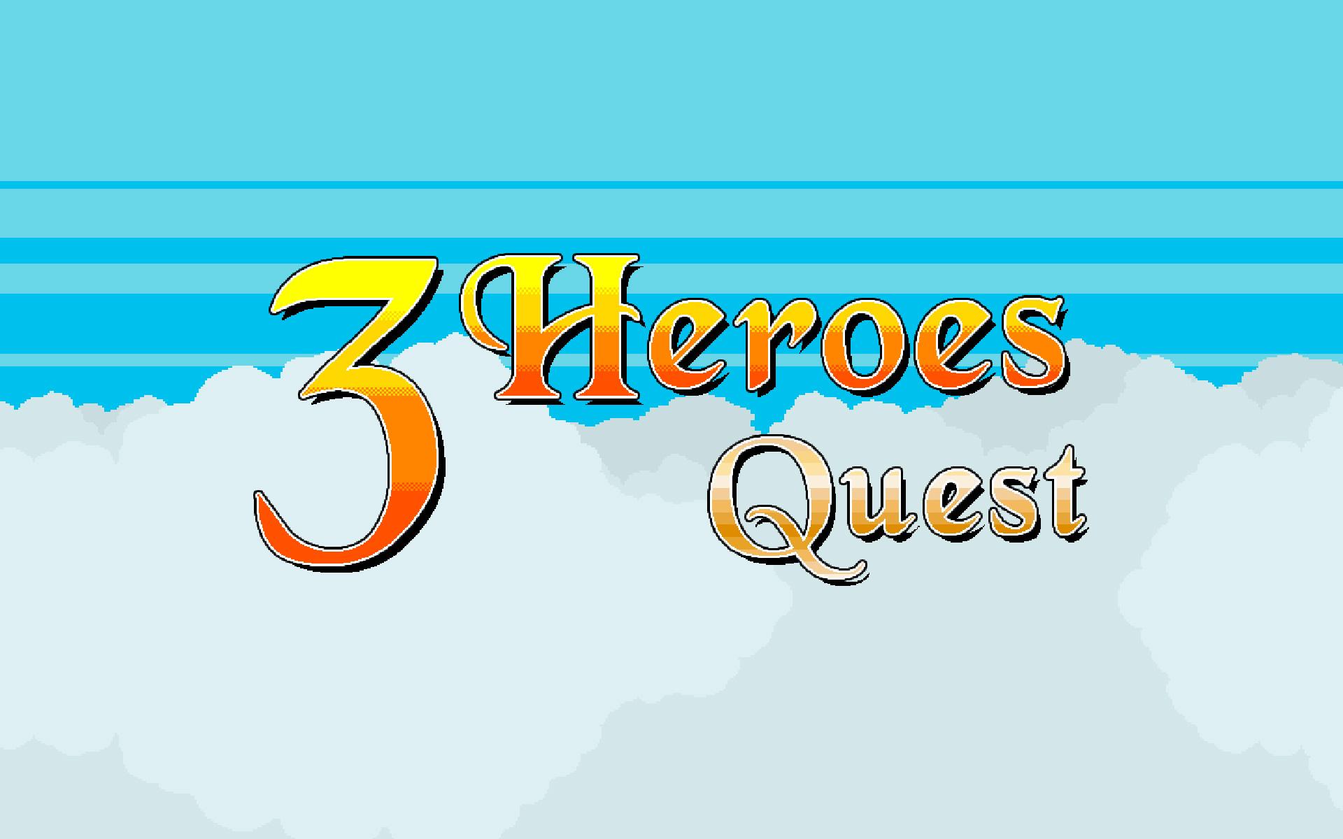 3 Heroes Quest Logo