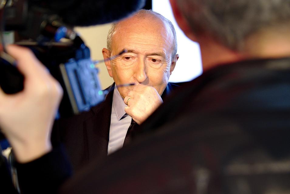 Campagne électorale - Gérard Collomb
