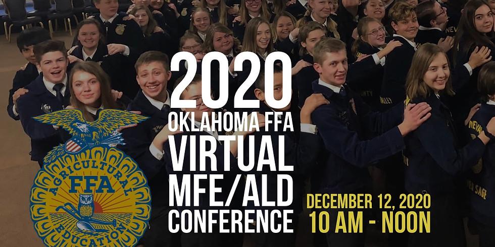 2020 Oklahoma FFA Virtual MFE/ALD Conference
