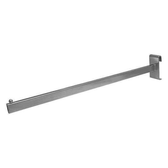 Metal Rectangular Straight Arm for Grid Panel Stand