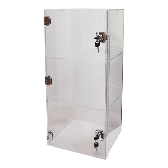 3 Layers Acrylic Display Cases with Locks