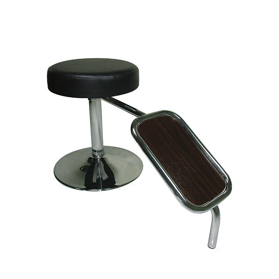 Shoe Stool with Foot Rest