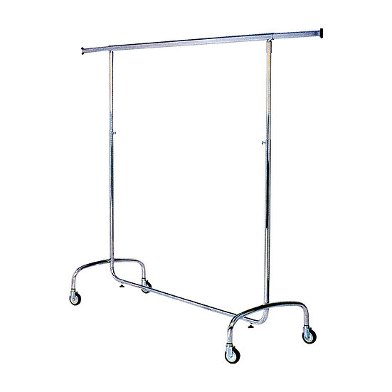 Metal Rolling Clothes Rack on Wheels