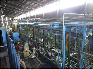 38 The length of the chrome plating line