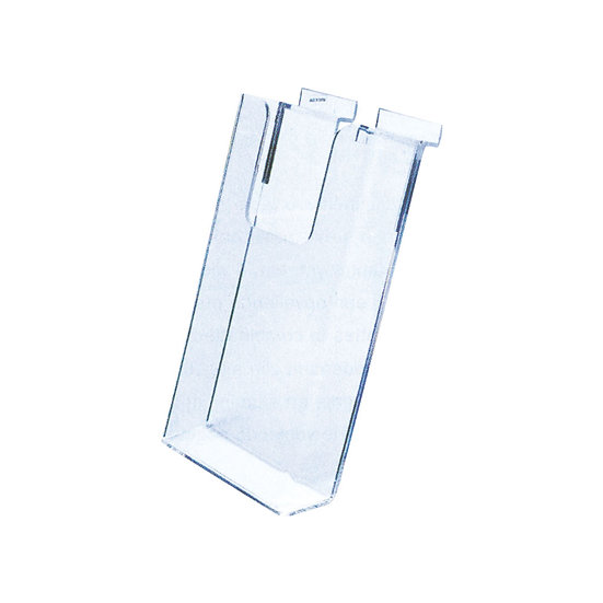 Acrylic Slatwall A6 Leaflet Holder