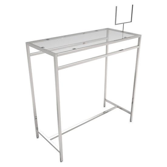 Metal Retail Clothing Display Table